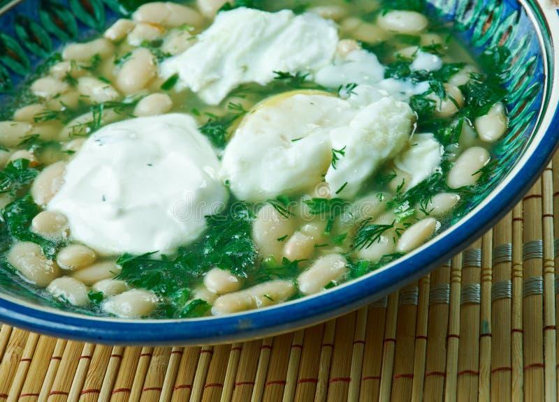 波斯扁豆炖煮的食物 图库摄影