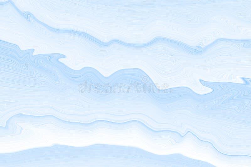 E 波浪和线的纹理 库存例证