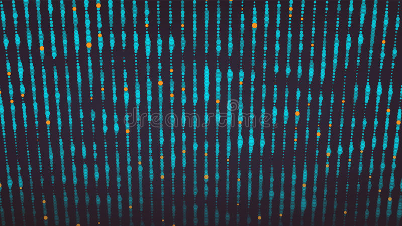 波浪抽象图形设计 科学技术背景现代感觉  也corel凹道例证向量 摘要加点连接Bac 皇族释放例证