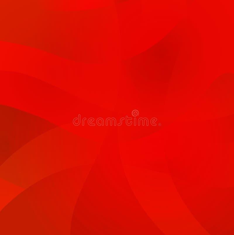 波浪抽象的背景 设计的五颜六色的焕发梯度表面 皇族释放例证