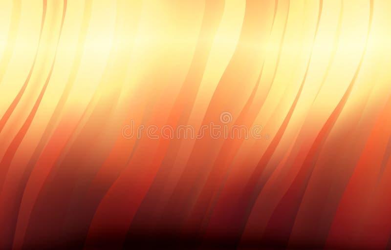 波浪抽象的背景 皇族释放例证