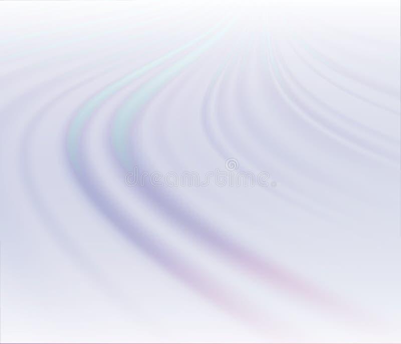 波浪蓝色背景 向量例证
