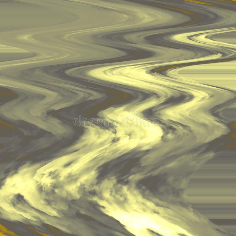 波浪题材设计 抽象五颜六色的粉末飞溅背景 风景图画看法  库存例证