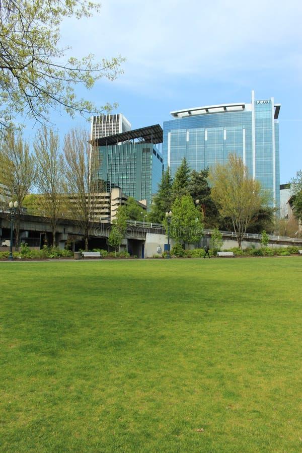 波特兰公司大厦  免版税库存照片