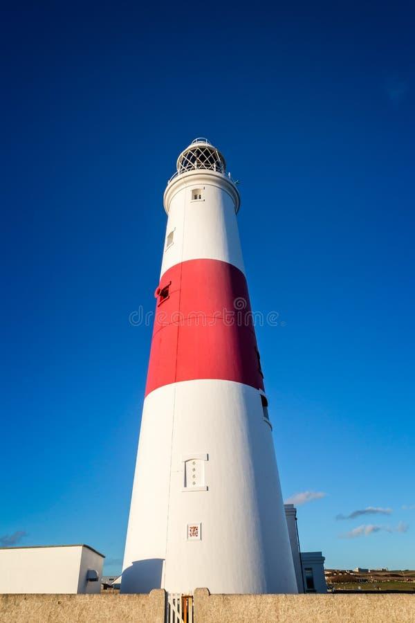 波特兰比尔灯塔被采取在波特兰,多西特,英国 库存图片