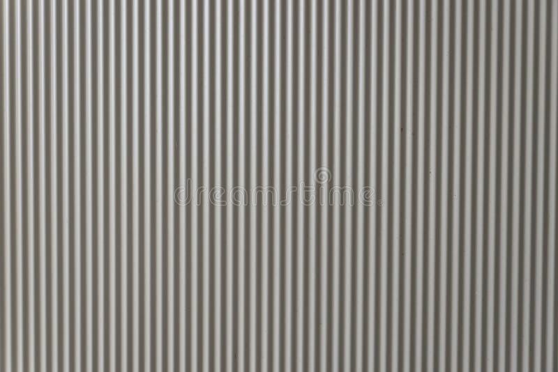 波状钢背景 免版税库存照片