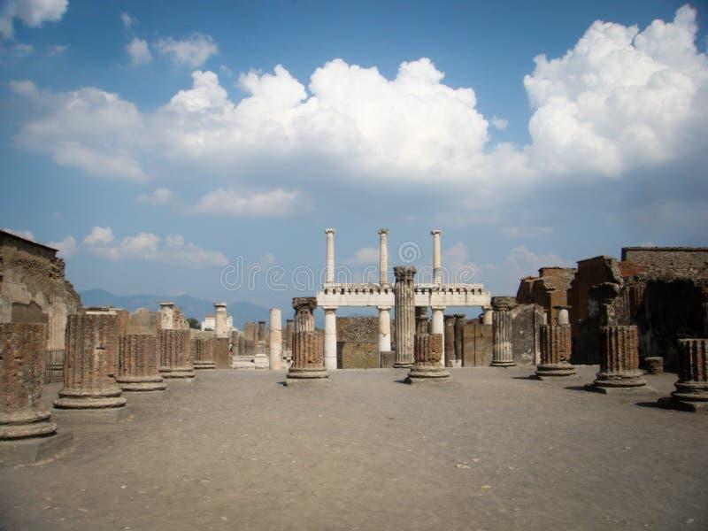 波纳佩风景破坏ar发现的历史的城市 免版税库存照片