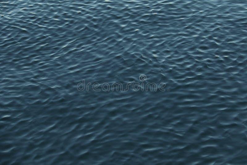 波纹在水中 图库摄影