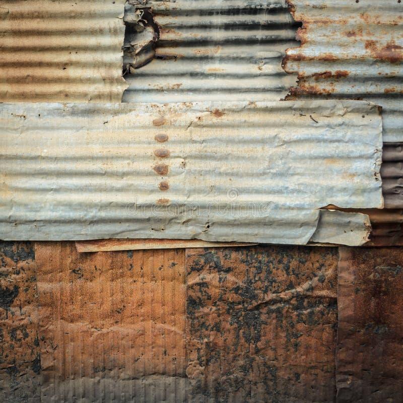 波纹状的墙壁样式背景 库存图片