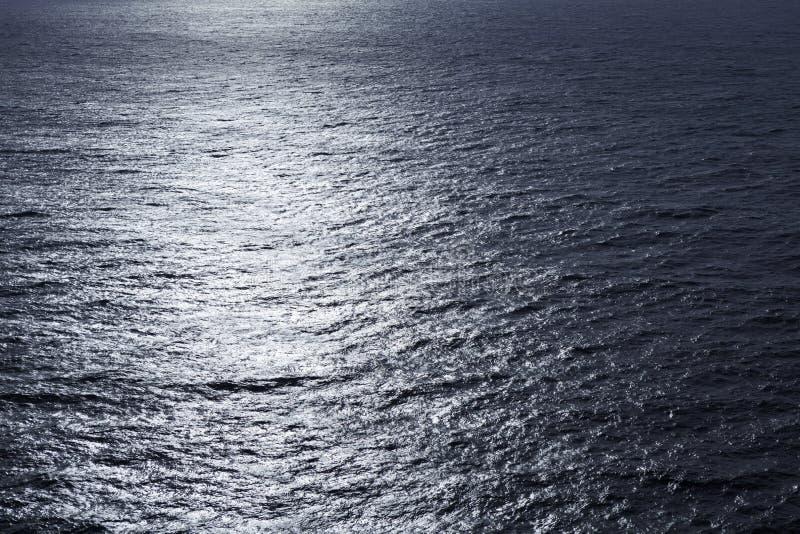 波纹状的湖水表面,关闭 免版税图库摄影