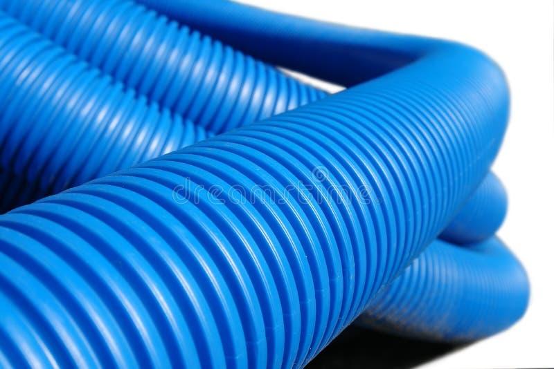波纹状的管道塑料 免版税库存图片