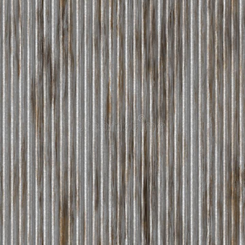 波纹状的金属模式 向量例证