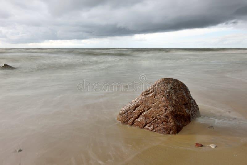 波罗的海的海岸 库存照片