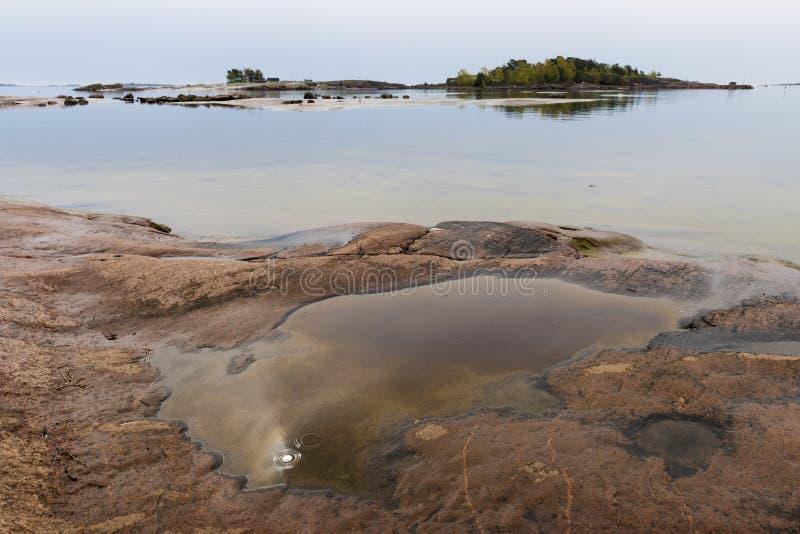波罗的海风景 免版税图库摄影