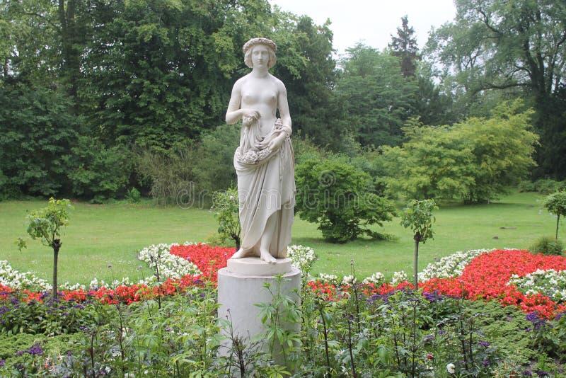 波茨坦, Sanssouci公园 库存图片