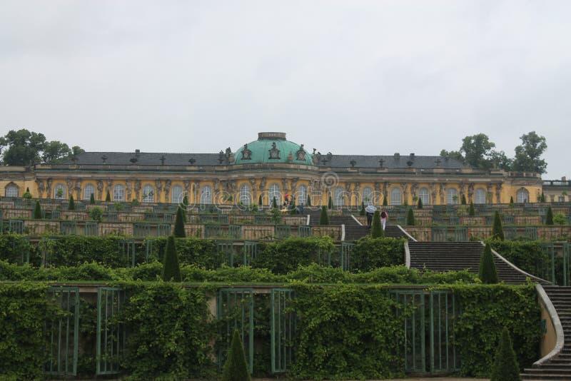 波茨坦, Sanssouci宫殿 免版税库存照片