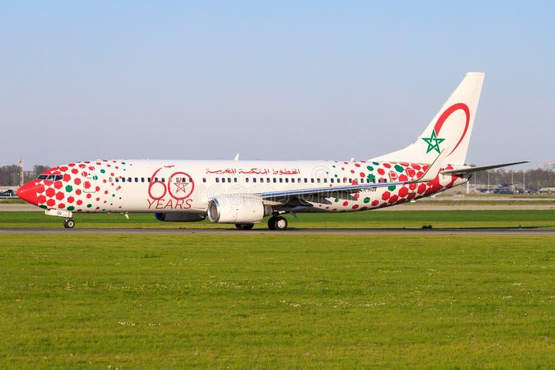 波音737形式空气毛罗茨 库存图片