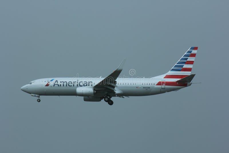 波音767 -美国航空 免版税图库摄影