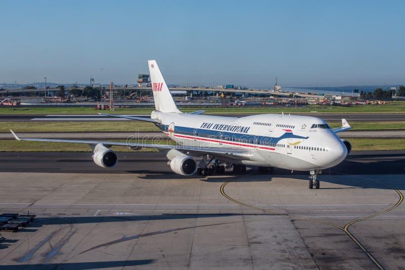 波音747 库存照片