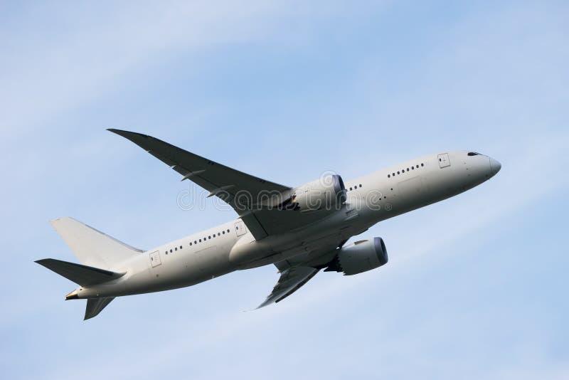 波音787-8 免版税库存图片