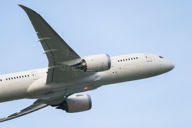 波音787-8 免版税库存照片