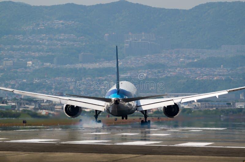 波音767-200 图库摄影