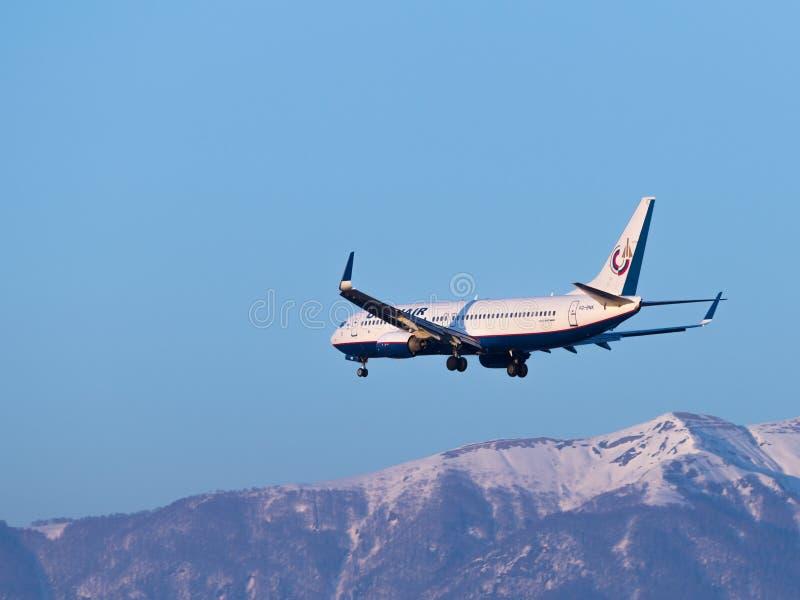 波音737-8K5, Orenair航空公司 免版税库存图片