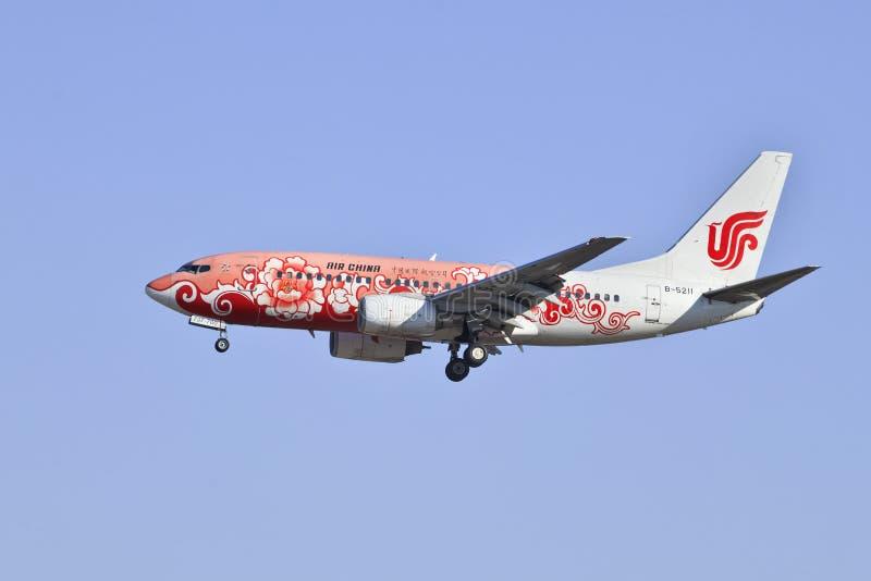 微�y.��b�9l#��$z)_波音737-79l, b-5211,中华航空公司着陆在北京,中国
