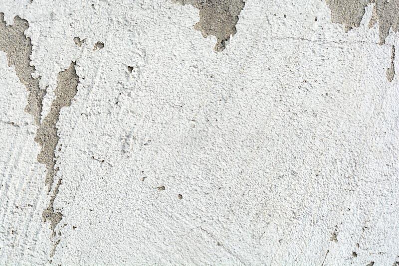 水泥墙壁纹理肮脏的概略的难看的东西背景 免版税图库摄影