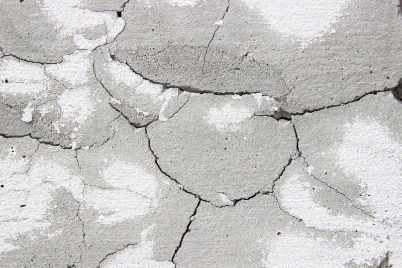 水泥墙壁表面镇压 库存照片