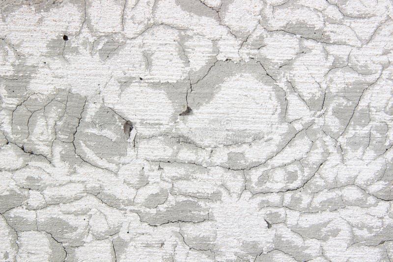 水泥墙壁表面镇压 免版税库存照片