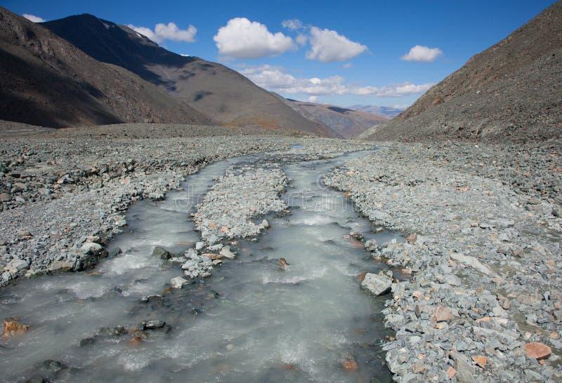 泥泞的水 库存照片