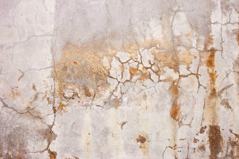 水泥膏药墙壁背景 免版税图库摄影