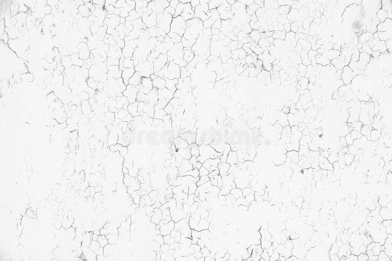 水泥破裂的纹理墙壁 免版税库存图片
