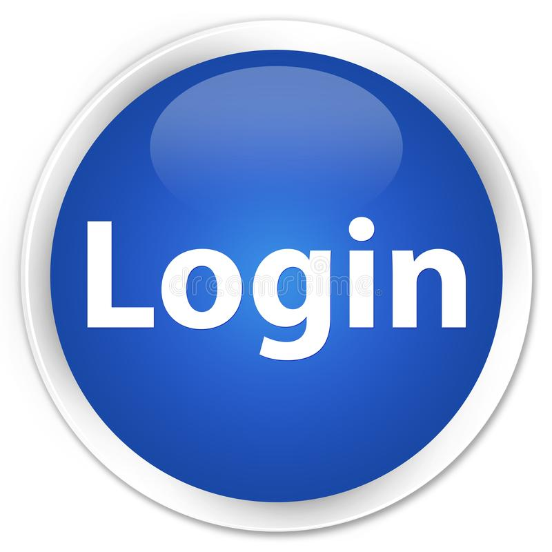 登录按钮_插画 包括有 蓝色, 按钮, 优质, 文本, 例证, 符号, 连接, 登录