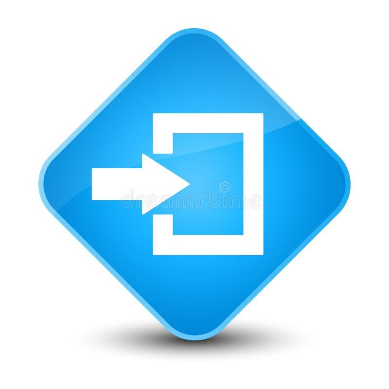 插画 包括有 图标, 蓝色, 进入, 登录, 按钮, 连接 - 103862787