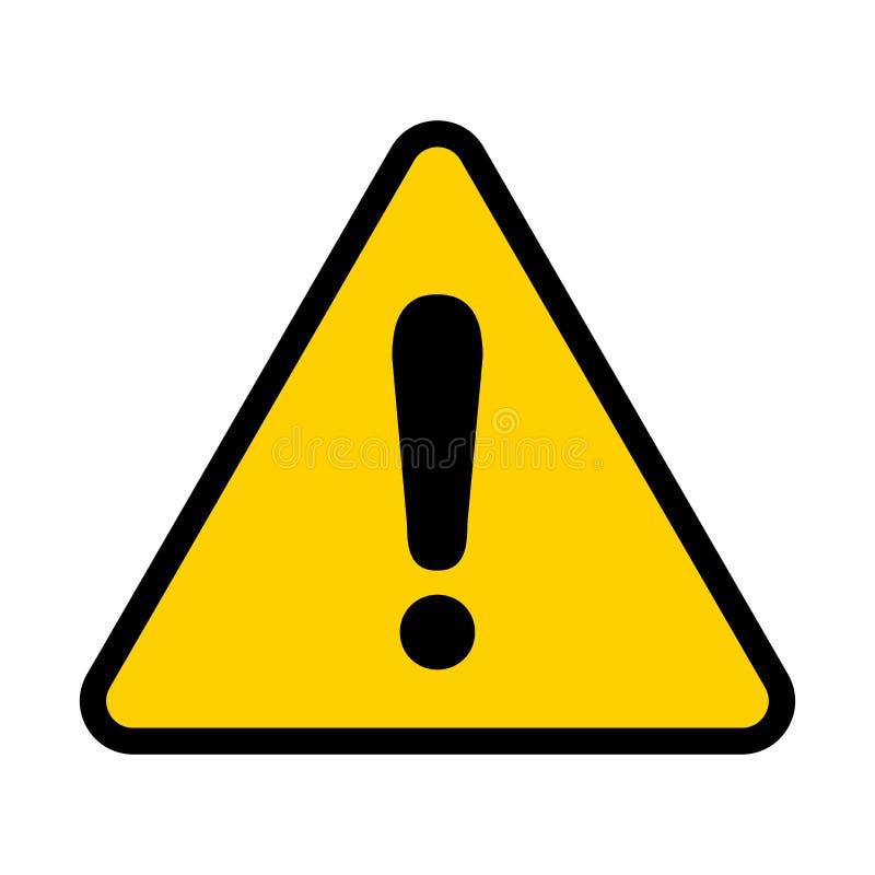 注意象 更多我的投资组合符号签署警告 感叹号 向量 向量例证