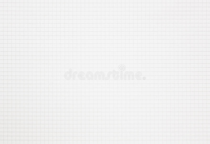 注标与拷贝空间的栅格笔记本方格纸 库存照片