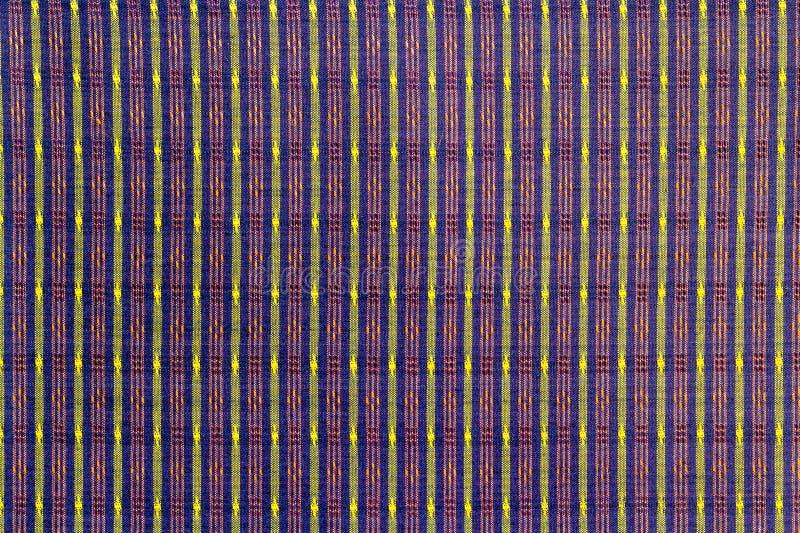 泰国丝织物样式 库存照片