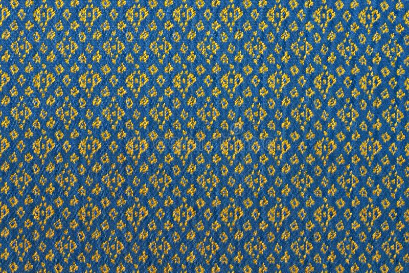 泰国丝织物样式 免版税库存图片