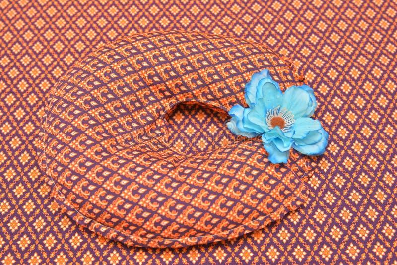 泰国丝绸美好的纹理  库存照片