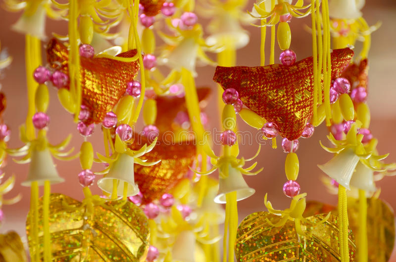 泰国佛教徒文化 免版税库存照片