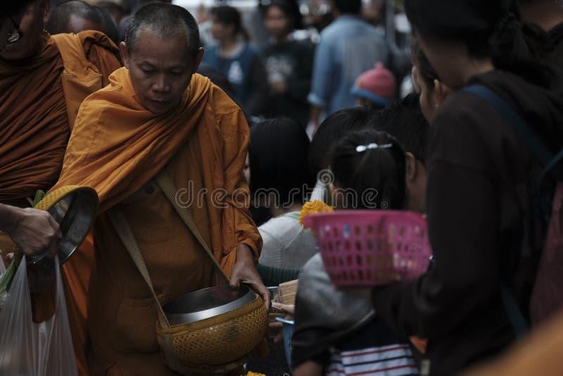 泰国佛教徒 库存图片