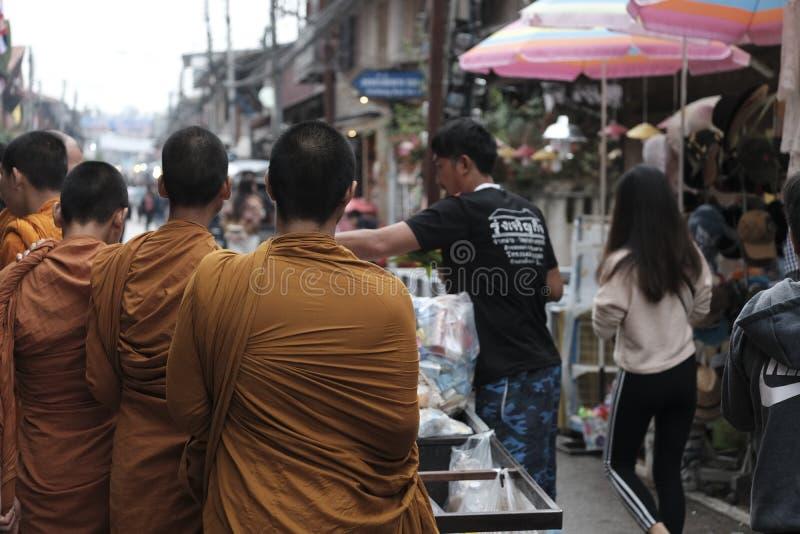 泰国佛教徒 图库摄影