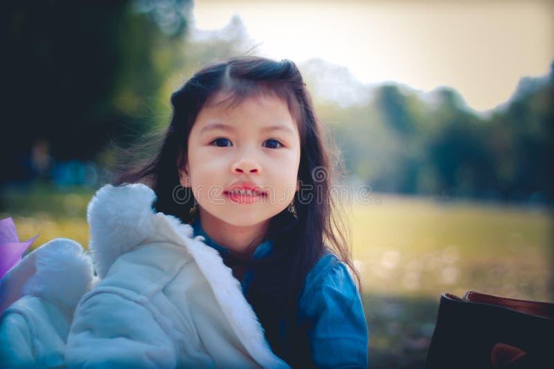泰国儿童微笑 库存图片