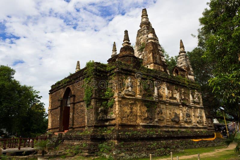 泰国古老的塔 库存照片