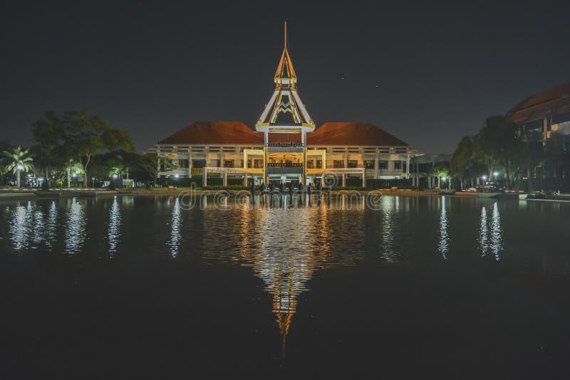 泰国国立法政大学Rangsit 库存照片