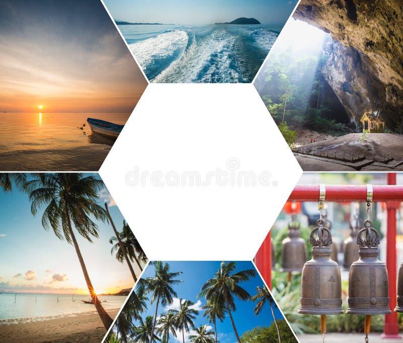 泰国图象拼贴画  免版税图库摄影