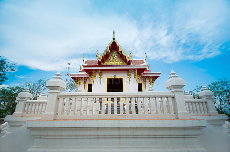 泰国地方寺庙 库存照片