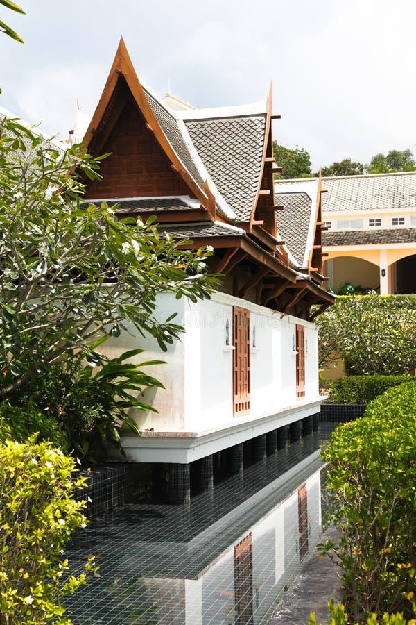 泰国大厦 免版税库存图片